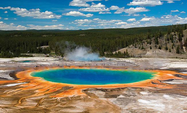 Yellowstone – the World's First National Park!
