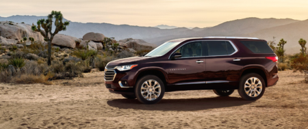 2020 Chevy Traverse FWD High Country